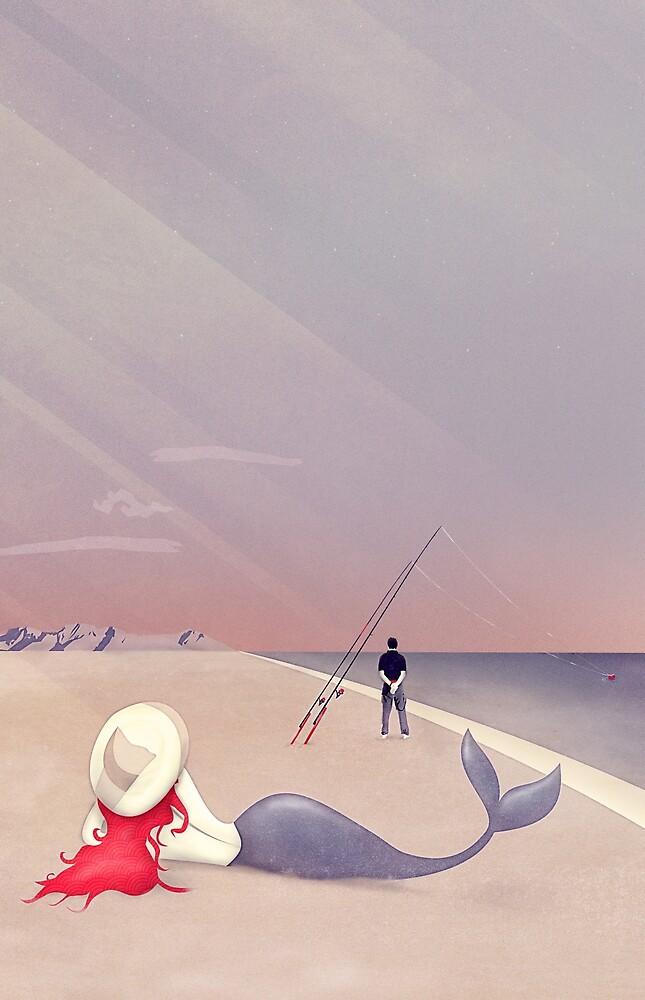 Keep Fishing von schwebewesen