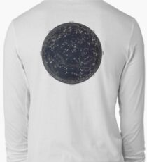 Antique Map of the Night Sky, 19th century astronomy T-Shirt