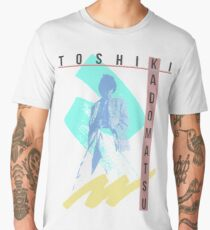 Toshiki White Men's Premium T-Shirt