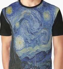 The Starry Night by  Vincent van Gogh Graphic T-Shirt