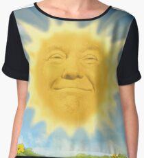 Donald Trump Meme Chiffon Top