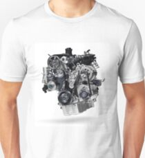 2.0TSI VW Car Engine T-shirt design Unisex T-Shirt