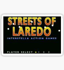 Streets Of Laredo Sticker