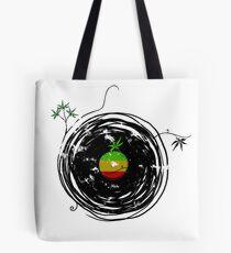 Reggae Music - Vinyl Records Cannabis Leaf - DJ inspired design Tote Bag