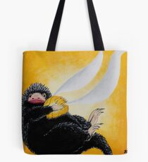 Niffler  with Golden Snitch Painting Tote Bag