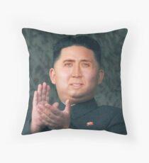 Nicolas Cage/Kim Jong-Un Throw Pillow