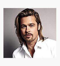Brad Pitt Photographic Print
