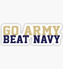 Go Army Beat Navy Sticker