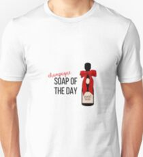Champagne party print T-Shirt