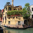 Venice corner by Elena Skvortsova