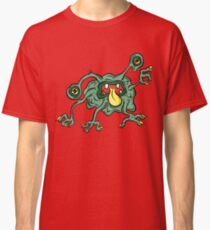 Alien Wiggle Monster - Flu Germ Classic T-Shirt