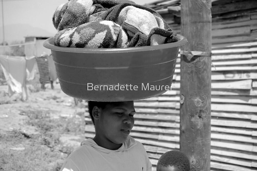 Daily chores by Bernadette Maurer