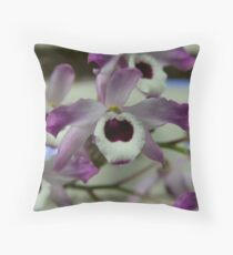 Cooktown Orchids? Throw Pillow