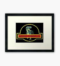 DINOSAURS : Jurassic Mesozoic Era Print Framed Print