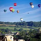 hot air balloons fiesta  by milena boeva