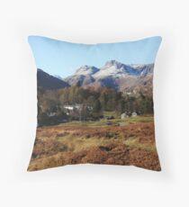 Langdale Pikes Throw Pillow