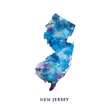 New Jersey by MonnPrint