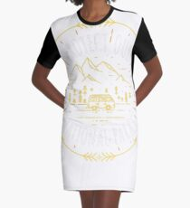 National Parks Graphic T-Shirt Dress