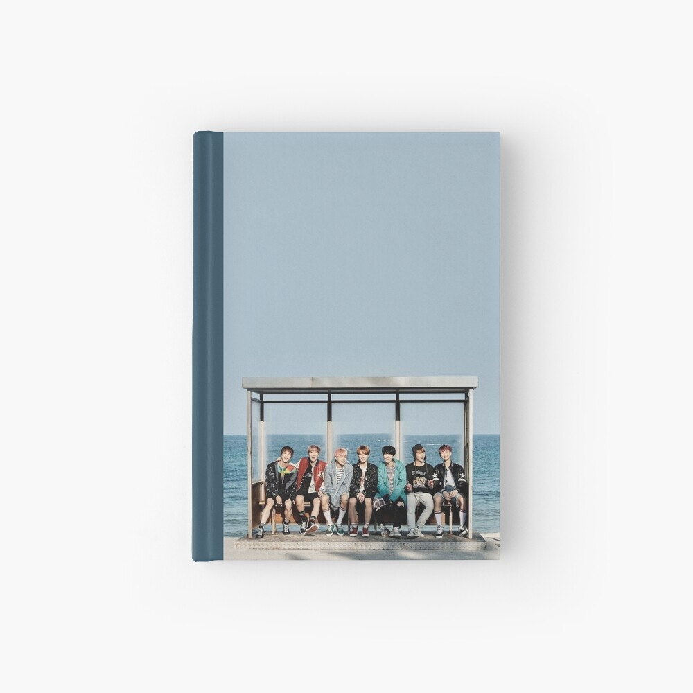 BTS Birthday Card Hardcover Journal
