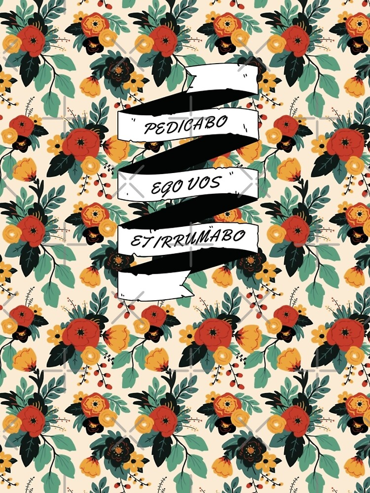 Catullus 16 - Floral by flaroh