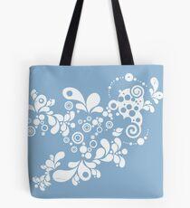 Enchanting Summer - Retro Abstract Tote Bag