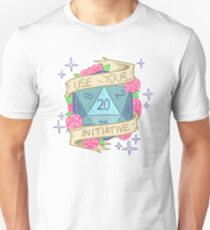 D20 - Use Your Initiative T-Shirt