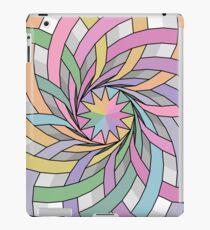 Rainbow rosette iPad Case/Skin