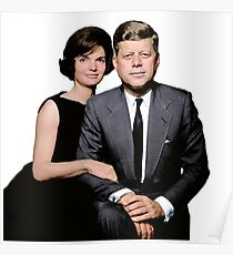 JFK and Jackie Poster