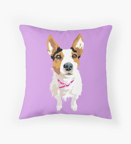 Lucy again Throw Pillow