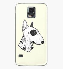 Tattooed Bullterrier Case/Skin for Samsung Galaxy
