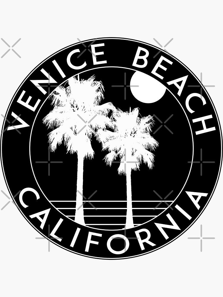 SURFING VENEDIG STRAND KALIFORNIEN SURF STRAND URLAUB PALM BAUM von MyHandmadeSigns