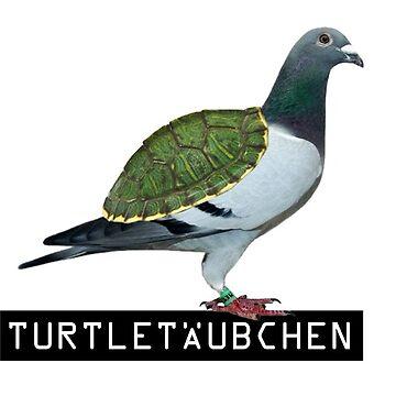 Turtletäubchen - Love Birdie Color by Sandmann
