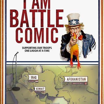 I Am Battle Comic t-shirt by JordanBrady
