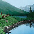 The Hunting Ground - Blackfoot American Indian by DanKeller