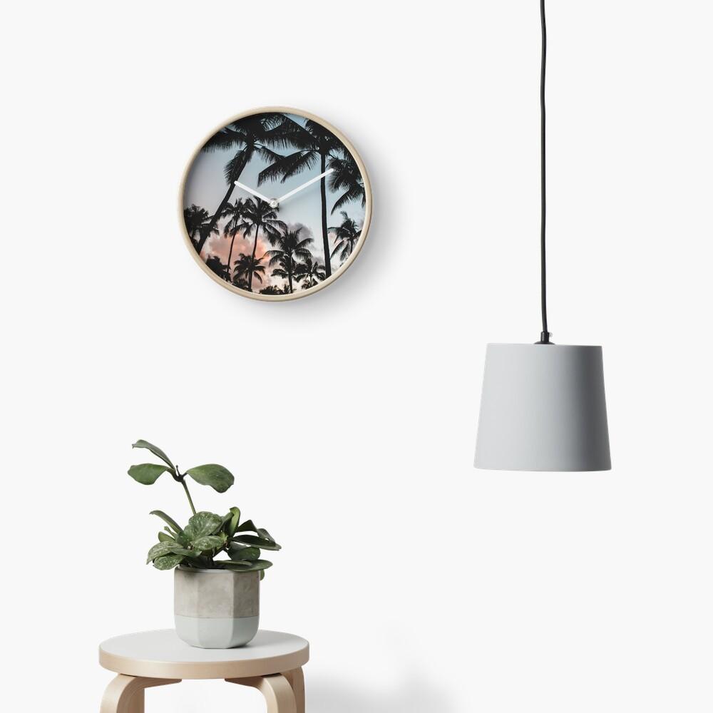 Pacific Palms Clock