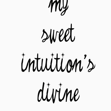 sweet intuition by jdenney