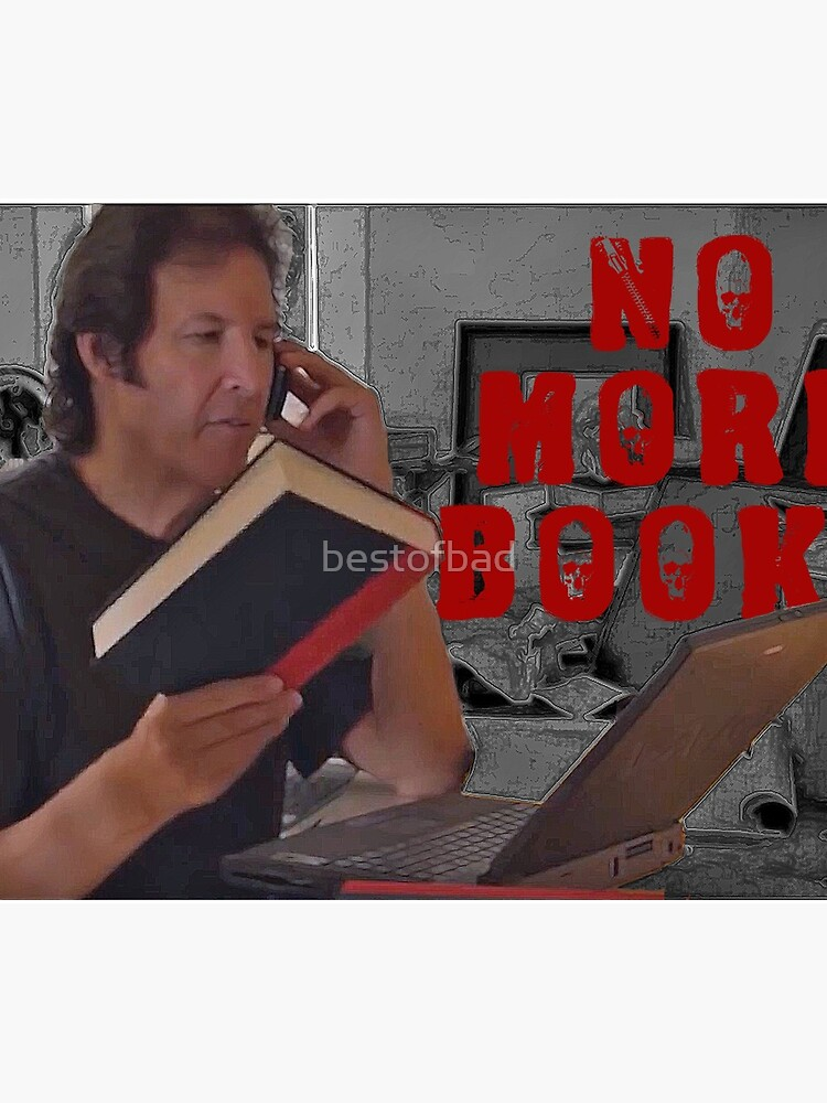 No More Books - Neil Breen by bestofbad