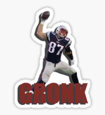 Rob Gronkowski - Spike Sticker