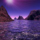 It's a Terragen world by Kimberly Palmer