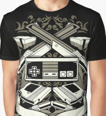 Classic SNES Console - 80's Video Games Graphic T-Shirt