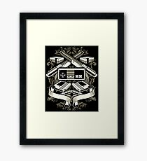 Classic SNES Console - 80's Video Games Framed Print