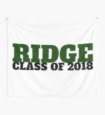 Ridge Class of 2018 Wall Tapestry