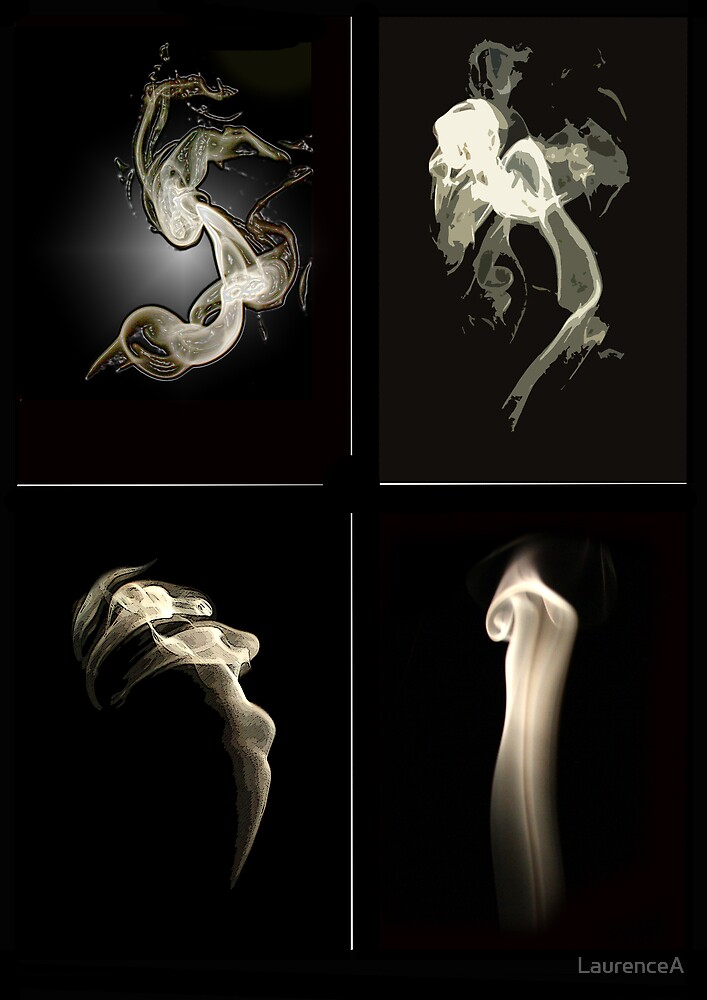Anguish in Smoke by LaurenceA