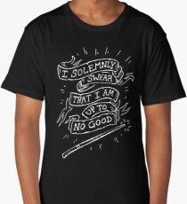 I Solemly Swear That I am Up to No Good! Long T-Shirt