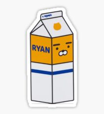 RYAN Milk Carton Sticker