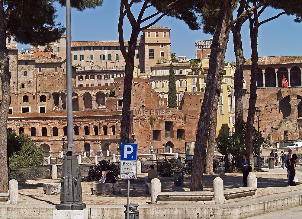 Buildings Connected to the Colosseum by Memaa