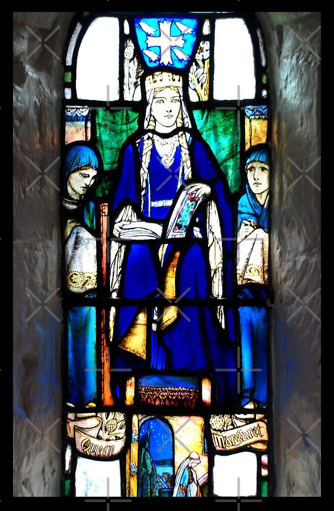 Queen Margarets window by Terry Mooney