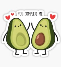 You complete me... Sticker