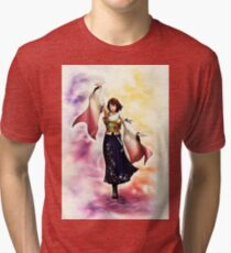 Yuna Final Fantasy X Tri-blend T-Shirt