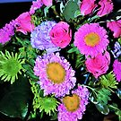 Mostly pink bouquet by ♥⊱ B. Randi Bailey